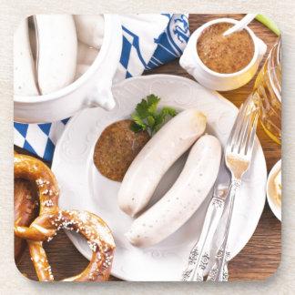 Desayuno de Oktoberfest Posavasos De Bebida