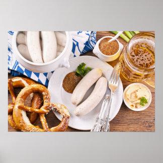 Desayuno de Oktoberfest Póster