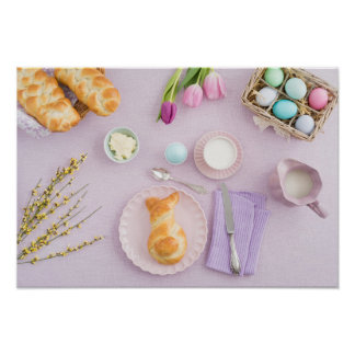Desayuno de Pascua Póster