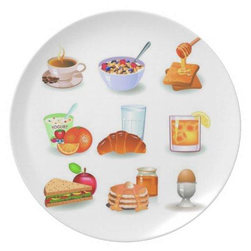 Desayuno del OPUS Platos Para Fiestas