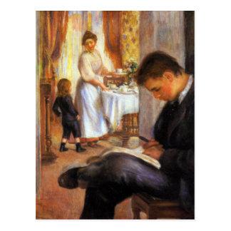 Desayuno en Berneval de Pedro Renoir Postal