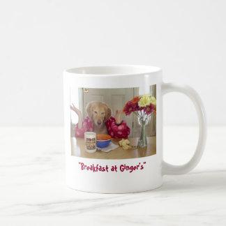 Desayuno en la taza del jengibre