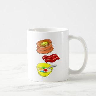Desayuno equilibrado taza de café