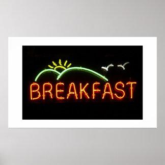 Desayuno-Impresión Impresiones