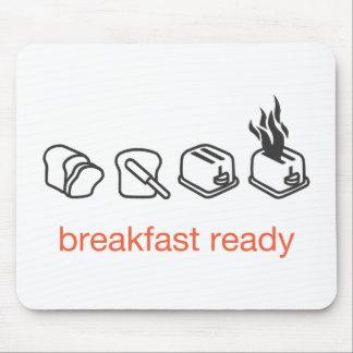 desayuno listo tapete de ratones