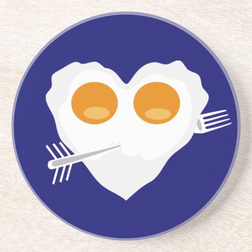 Desayuno para el práctico de costa del personaliza posavasos diseño