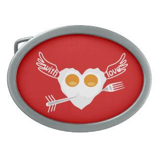 Desayuno para las hebillas del cinturón de los ama hebillas de cinturón