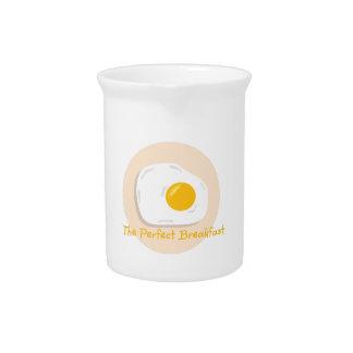 Desayuno perfecto jarron