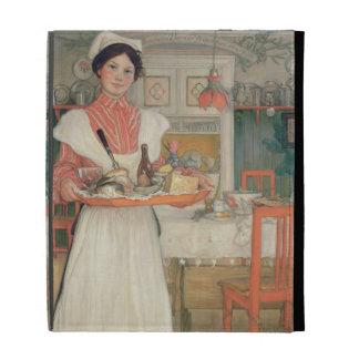 Desayuno que lleva en una bandeja, 1904 de Martina