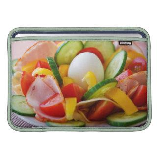 Desayuno sano del vegano funda para macbook air