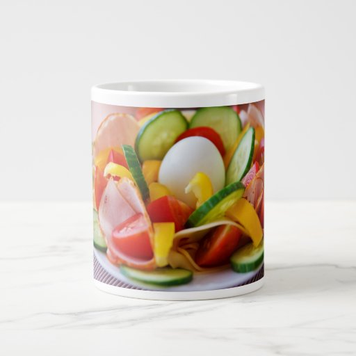 Desayuno sano del vegano taza grande