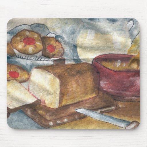 desayuno tapetes de ratón