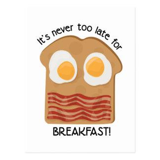 ¡Desayuno! Tarjetas Postales