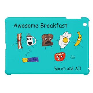 Desayuno, tocino y todo impresionantes iPad mini carcasas