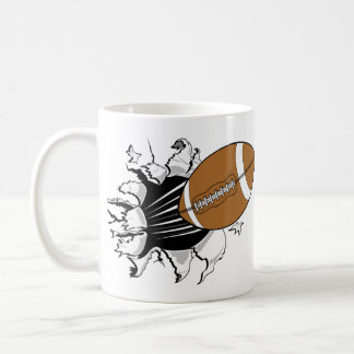 Desbloqueo del fútbol taza de café
