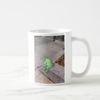 descanso para tomar café de los sluggo taza clásica