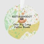 Descanso para tomar café del retiro