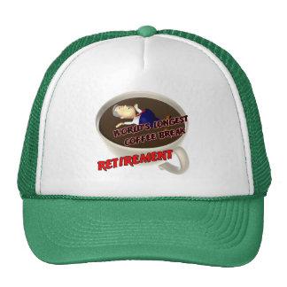 Descanso para tomar café del retiro (2) gorras