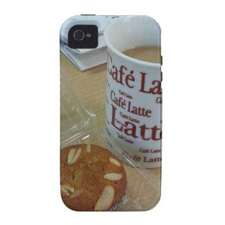 Descanso para tomar café iPhone 4/4S funda