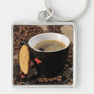 Descanso para tomar café llaveros personalizados