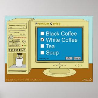 Descanso para tomar café poster