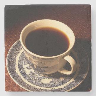 Descanso para tomar café posavasos de piedra