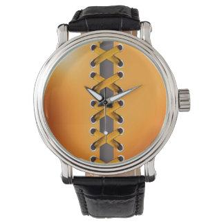 Descarado ate para arriba (el amarillo de oro) reloj