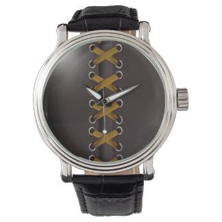 Descarado ate para arriba (el oro negro) relojes de mano