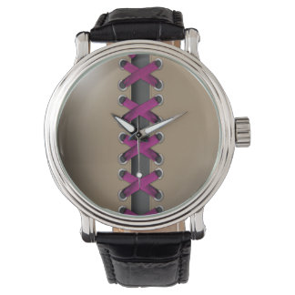 Descarado ate para arriba (la violeta de color relojes de mano