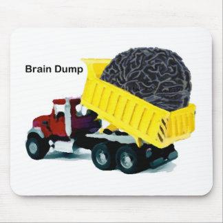 Descarga de cerebro alfombrillas de raton