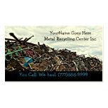 Descarga del reciclador de la chatarra o centro de plantilla de tarjeta de negocio