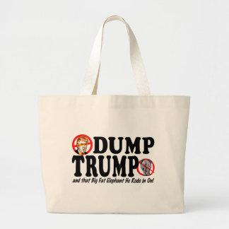 Descarga Donald Trump 2016 Bolsa Tela Grande