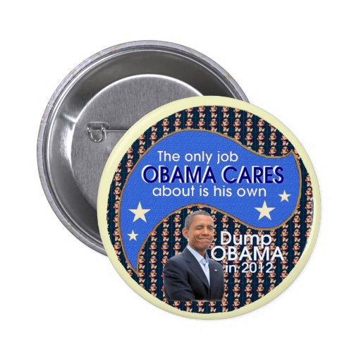 Descarga Obama en 2012 Pin Redondo De 2 Pulgadas