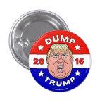 Descargue el triunfo, botón del triunfo 2016 de pin redondo de 1 pulgada