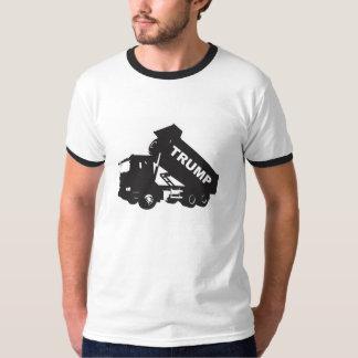 Descargue el triunfo - camión volquete polera