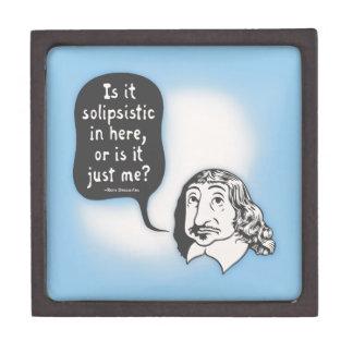 Descartes Solipsistic Caja De Regalo De Calidad