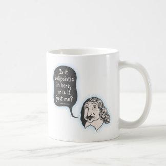 Descartes Solipsistic Coffee Mug