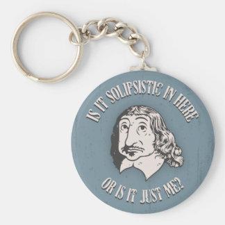 Descartes Solipsistic Llaveros Personalizados