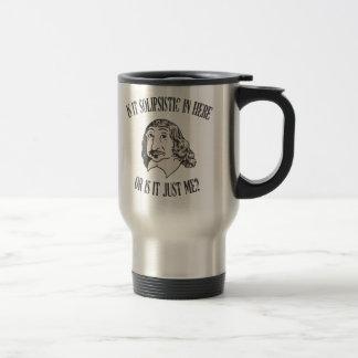 Descartes Solipsistic 15 Oz Stainless Steel Travel Mug