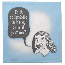 Descartes Solipsistic Napkin