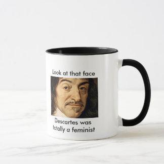 Descartes Wast Totally a Feminist Mug