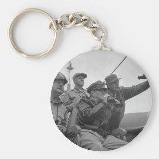 Descascarado de general Douglas MacArthur de Incho Llavero Personalizado