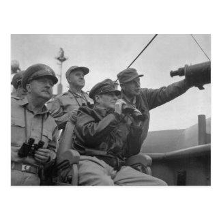 Descascarado de general Douglas MacArthur de Incho Tarjetas Postales