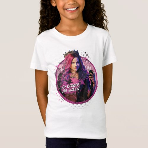 Descendants 3  Audrey _ Id Rather Be Queen T_Shirt
