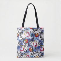 Descendants | Evie | Apple Pattern Tote Bag