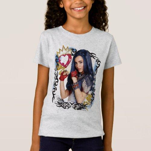 Descendants  Evie  Attitude is Everything T_Shirt