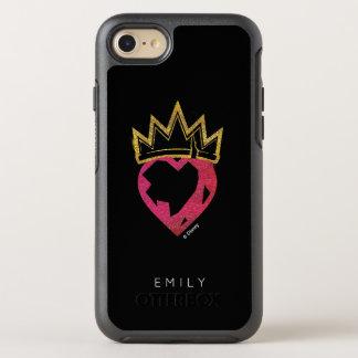 Descendants | Evie | Heart and Crown Logo OtterBox Symmetry iPhone 8/7 Case