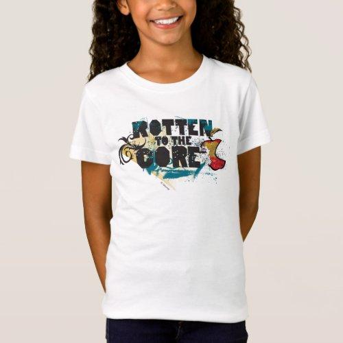 Descendants  Evie  Rotten to the Core T_Shirt