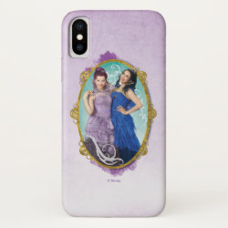 Case-Mate Barely There Apple iPhone XS Case with Descendants Mal and Evie Together design