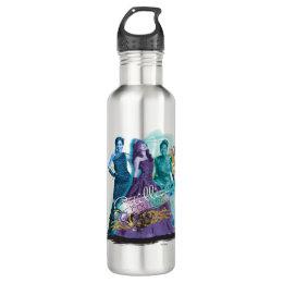 Descendants | Mal, Evie & Uma | Cotillion Couture Stainless Steel Water Bottle